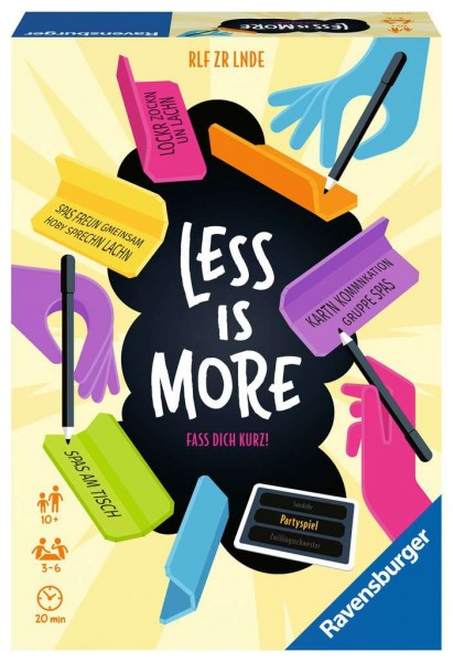 Ravensburger Less is more