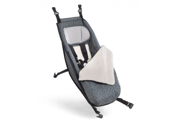CROOZER Baby Seat with Winter Kit