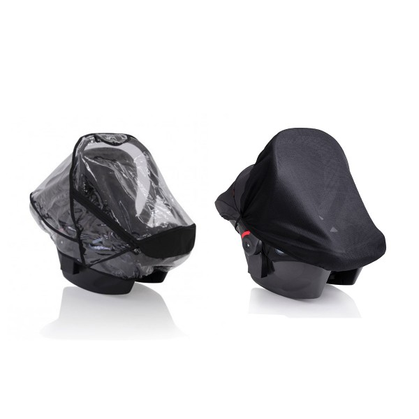 Mountain Buggy Protect Infant Car Seat Sun & Storm Cover Set