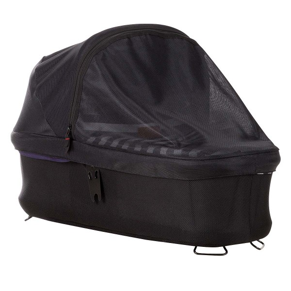 carrycot plus sun cover for duet, swift,mini